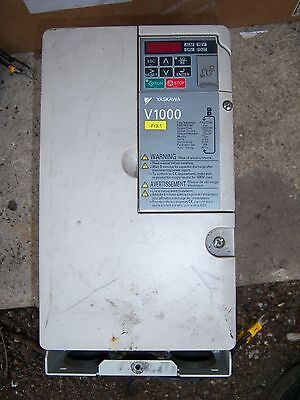 YASKAWA CIMR-VC4A0023FA 3 PHASE INPUT INVERTER OUTPUT 11/7.5Kw FREE UK POST