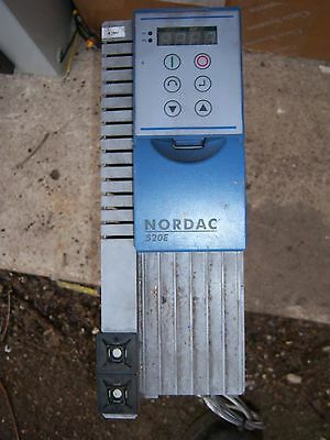 NORDAC 520e 3 PHASE INPUT INVERTER OUTPUT 5.5Kw 12.5A FREE UK POST