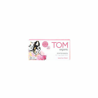NEW TOM Organic Mini Tampons (16 pack)