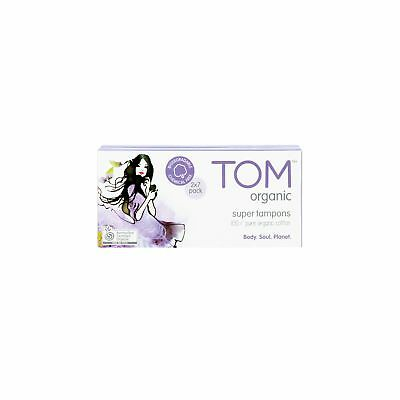 NEW TOM Organic Super Tampons (14 pack)