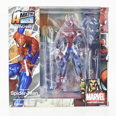 Revoltech Marvel Amazing Spider-Man Series No.002 Action Figure 7""