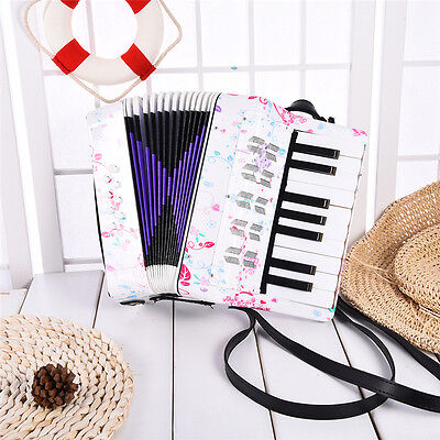 Beibeile 7-Key 8 Bass Entry-level Accordion Educational Gift for Kids Children