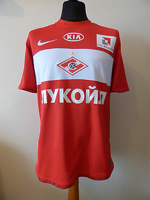 Spartak Moscow 2009 Nike Home Shirt (M,Medium) Player #8