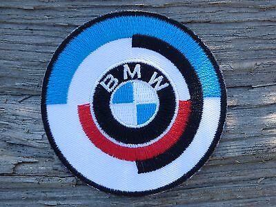 A077 ECUSSON PATCH THERMOCOLLANT aufnaher toppa BMW logo serie 1 2 3 4 5 6 7 x m