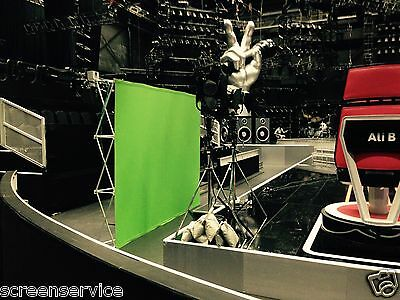 1x Portable Chromakey Greenscreen POP-UP Set - Effect Screens for Professionals