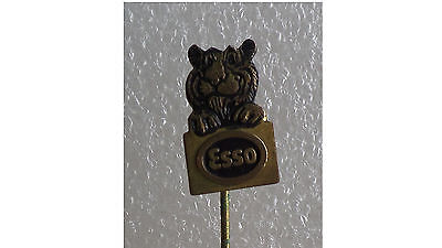 ESSO - TIGER IN YOUR TANK PIN/BADGE - VINTAGE 1960's #3