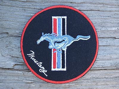 ECUSSON PATCH THERMOCOLLANT MUSTANG ac cobra ford shelby gt 350 500 v8 le mans