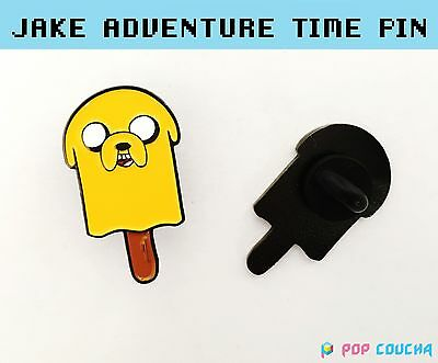 Adventure Time Jake Popsicle  Lapel Pin Enamel Gift Birthday Brooch Metal Badge