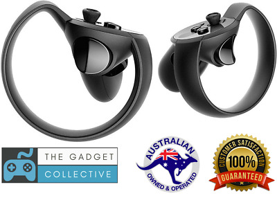 Oculus Rift Touch Controllers + Sensor VR Virtual Reality Accessory (Pair)