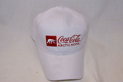 Baseball Cap/hat New W/o Tags Coca-Cola Bottle White Adjustable