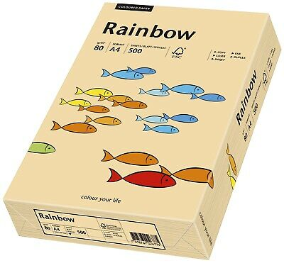 Papyrus Rainbow Pastell - A4,  lachs, 500 Bl.