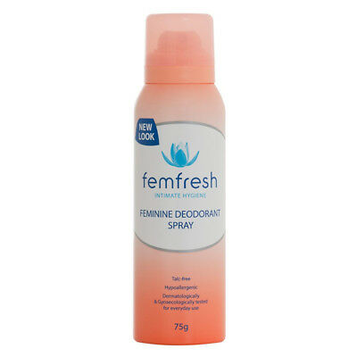 NEW Femfresh Feminine Deodorant Spray 75G