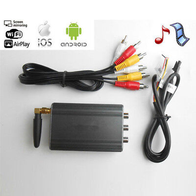 Screen iPhone Android Mirroring Car Stereos WIFI Mirabox Miracast DLNA Airplay