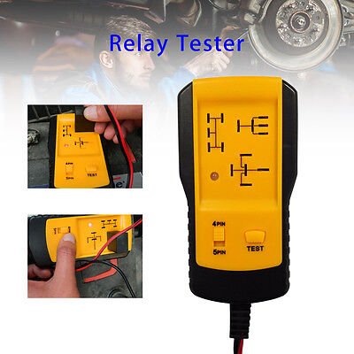 12V Automotive Relay Tester Portable Car Battery Quick Test Diagnostic Tool