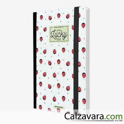 LEGAMI Agenda 2018 Settimanale Photo Medium 12 Mesi - 12x18 - Coccinelle Bugs