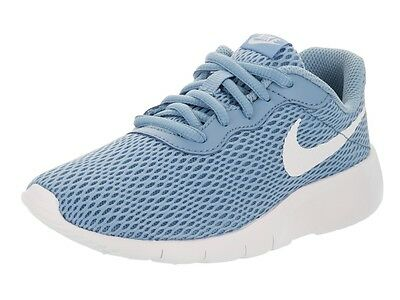 Nike TANJUN PS Youth Boys White Blue Athletic Running Shoes