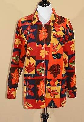 Vintage BCC Women's Medium Jacket Polyester/Fleece Great Condition!