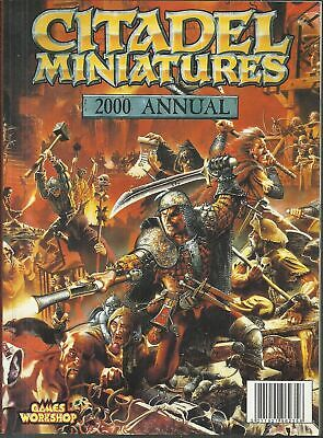 CITADEL MINIATURES 2000 ANNUAL - in americano