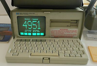 HP 4951C Protocol Analyzer w/ 18173A see photos for additional items