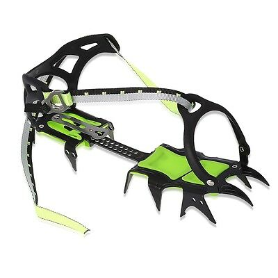 BRS-S1A Pair of Outdoor Fourteen Teeth Bundled Crampon Ice Gripper Hiking