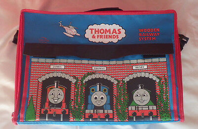Thomas the Tank Engine and Friends Train Wooden Railway System 2001 Carry Bag