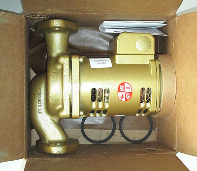 Bell & Gossett 1BL004LF Bronze Booster Pump PL-45B, 115 Volt 1/6 HP, Made in USA
