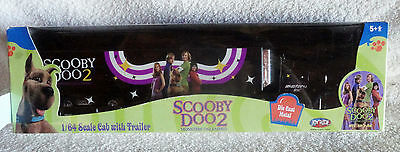 Scooby Doo 2 Cab with Trailer - 1/64 - Diecast Monsters Unleashed Joy Ride - New