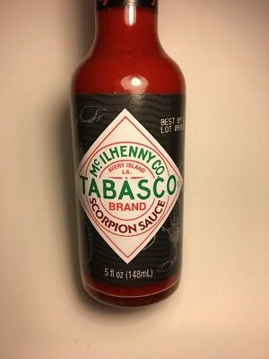 Tabasco Scorpion Sauce Limited Batch Sold Out! Very HTF! In Hand Ready To Ship