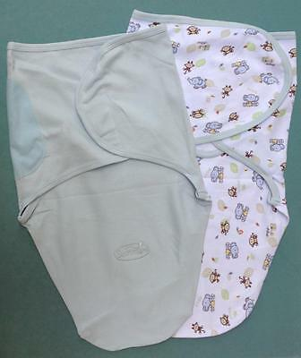 Baby Swaddle Wrap Cotton Size 000 Newborn New Summer Sleeping Bag Infant Boy