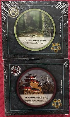 Legend of the Five Rings Shadowlands L5R Diskwars Naga & Scorpion Starters NEW