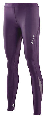 Skins DNAmic Women's Long Tights - BLACKBERRY