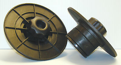 "Roland or Any 3"" Inkjet Printer Media Holder Flange Pair 3"" Cores Only"