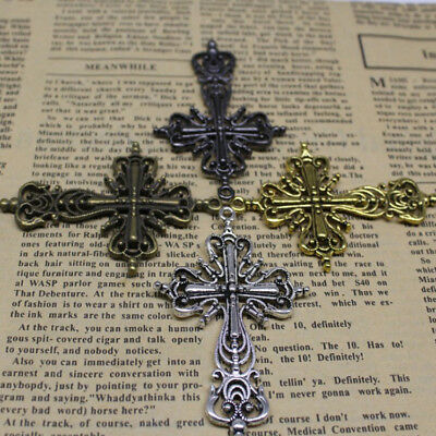 New fashionable exquisite antique hollow cross lovely Filigree charm pendant