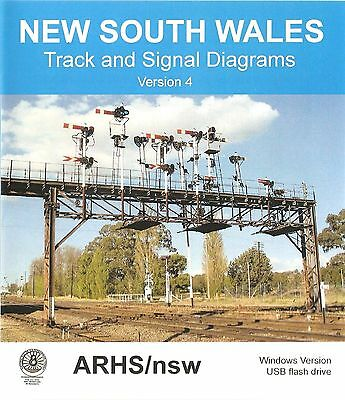 Track and Signal Diagrams of NSW Windows Version 4