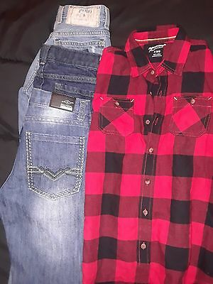 Boy's Size 10 Lot Of 4 Fall/winter Euc