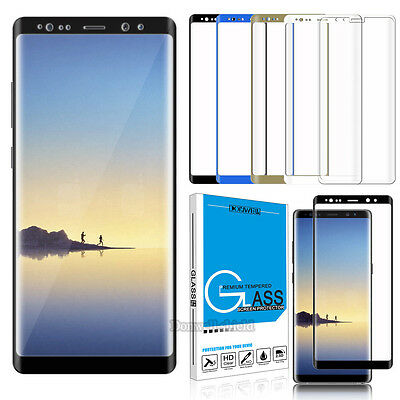 3D Full Cover 9H Tempered Glass Screen Protector Film For Samsung Galaxy Note 9