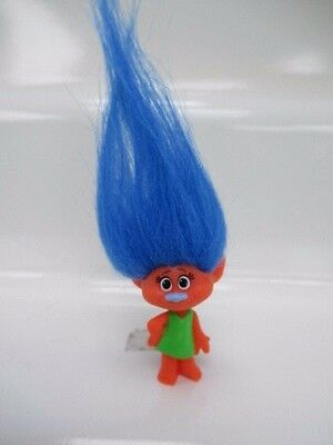 Dreamworks Trolls Series 4 Blue Hair Fuzzbert Blind Bag Figure NEW