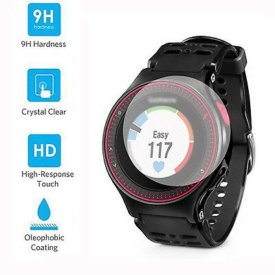 9H Tempered Glass Screen Protector Skin Film Guard for for Garmin Forerunner 225