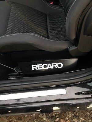RECARO STICKERS GRAPHICS  x1 Pair VINYL DECAL STICKER