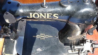 Sewing Machine 1927 Jones Vintage Rare English Collectable