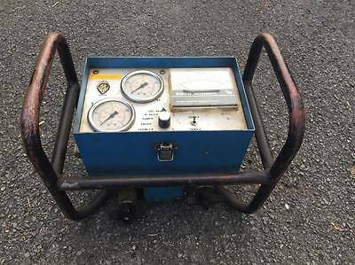 Hydraulic Flow Meter Webtec HTD400 - 400LPM DOUBLE FLOW TESTER
