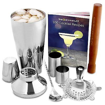 Manhattan Cocktail Set | Shaker and Home Making Kit with Recipe Book, 750ml...