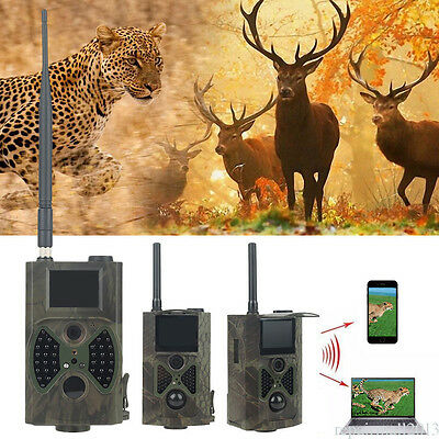 HC-300M Suntek HD Spy Hunting Trail Camera 940nm Scout Infrared 12MP GSM IR Cam
