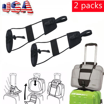 4pcs Adjustable Travel Luggage Suitcase Belt Add A Bag Strap Travelon Bag Bungee