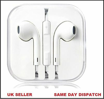 Earphone for iPhone iPad  Compatible EarPod Headphone Handsfree With Mic