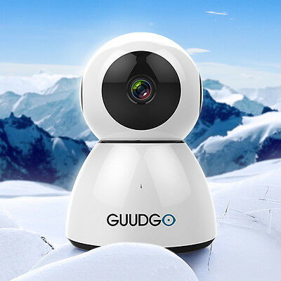 GUUDGO GD-SC03 Snowman 1080P Cloud WIFI IP Camera Pan&Tilt IR-Cut Night Vision T