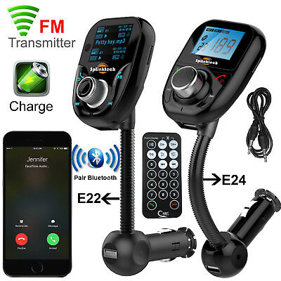 Wireless Bluetooth 3.0 Car MP3 Player FM Radio Transmitter LCD USB Charger Kit