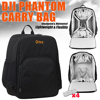 DJI Phantom 3 4 Backpack Standard Drone UAV Shoulder Carry Bag Case Rucksack