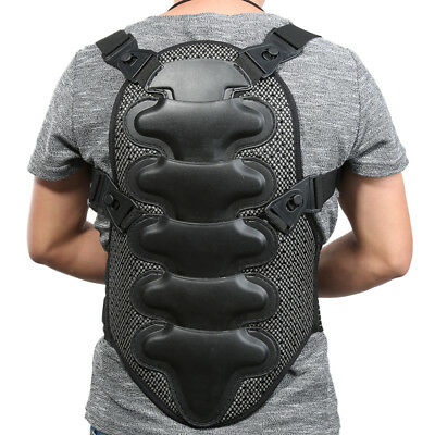 Motorcycle Racing Chest Back Protector Gear Body Protection Armor Jacket yh