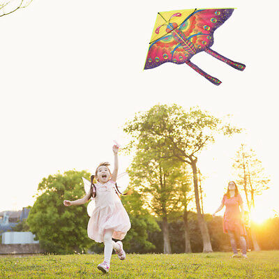 Stunt Kite 90cm Little butterfly Delta Outdoor Fun Sports Children Toy New